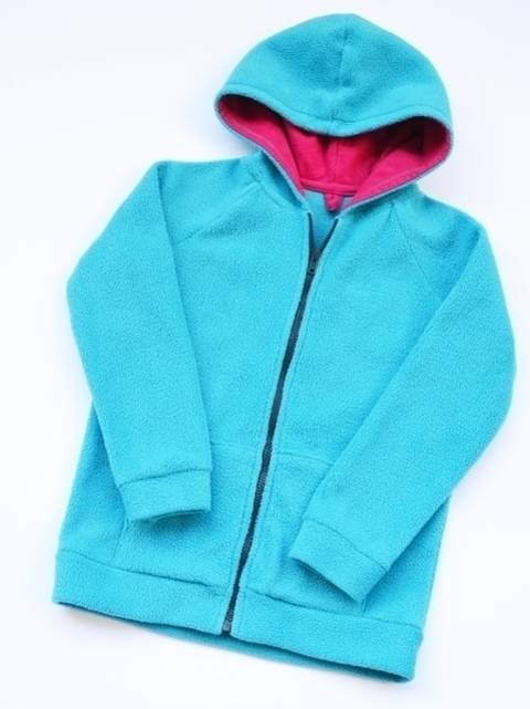 1350 Ebook Schnittmuster Kind Sweat  Jacke Gr. 98-164