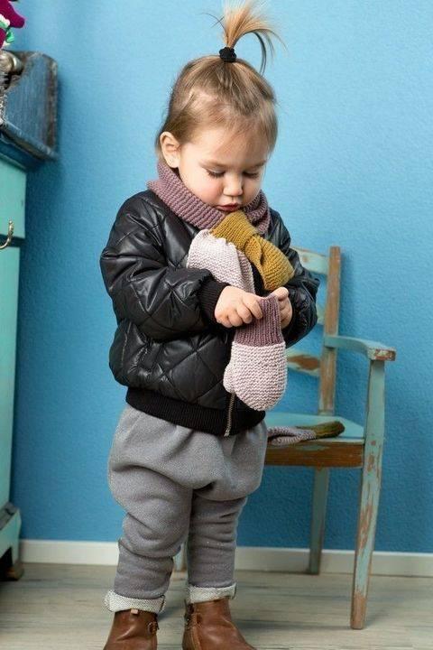 LANG YARNS Cashmere Premium - Schal und Handschuhe bei Makerist