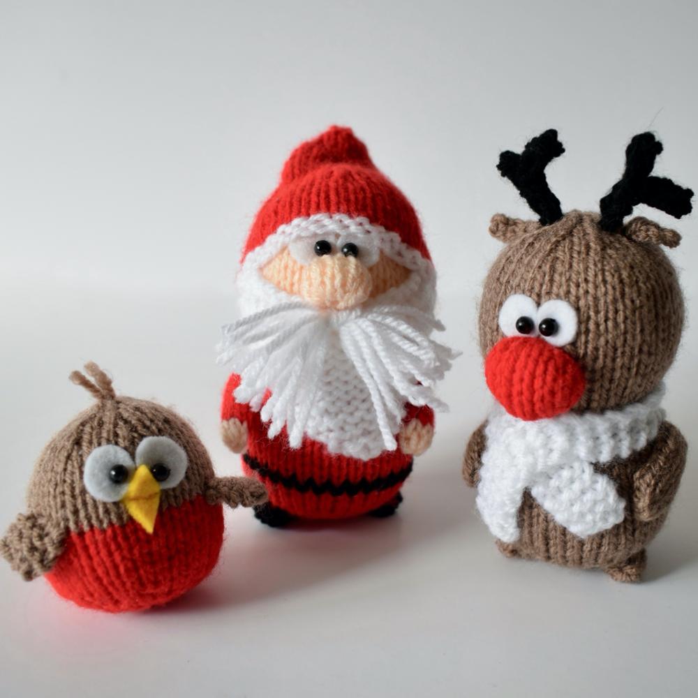 Santa, Rudolph and Robin