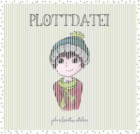 "Plotterdatei  Yela`s Kreativ Atelier "" Herbstkind "" Junge"