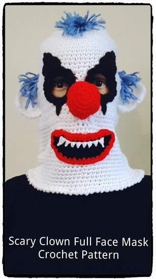 Crazy Clown Ski Mask Crochet Pattern  at Makerist - Image 1
