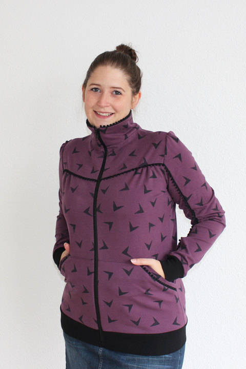 Ebook Sweatjacke Flora