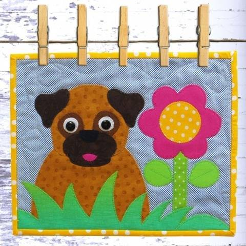 Pug Snack Mat at Makerist