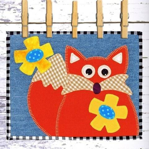 Felix Fox Snack Mat at Makerist