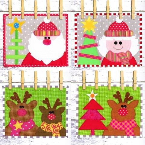 Merry Christmas Snack Mat at Makerist