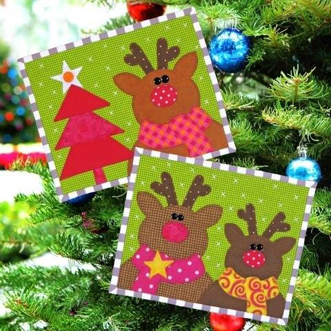 Merry Christmas Snack Mats at Makerist