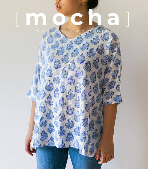 MOCHA Betsy Tunic and Dress PDF Pattern (#1711)