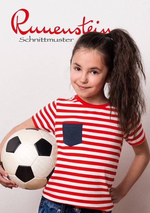 Viska Shirt 116-146 Schnittmuster & Anleitung