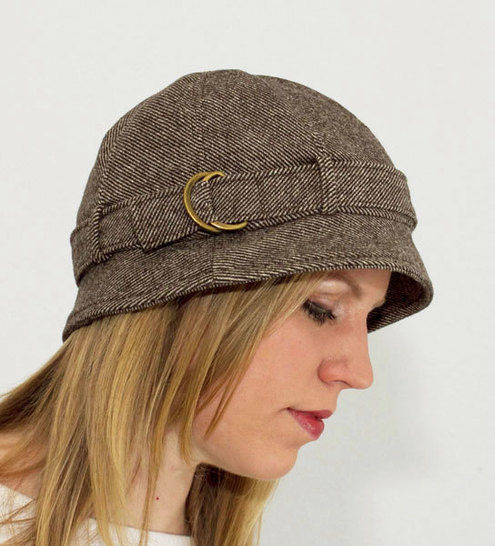 Strapped Hat Sewing Pattern at Makerist - Image 1