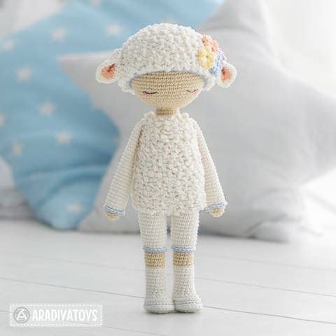 "Friendy Wendy de la collection ""AradiyaToys Friendies"" chez Makerist"