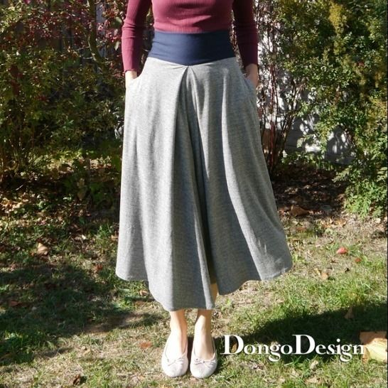 PDF Pattern Ebook Culotte Carina with sewing instructions at Makerist - Image 1