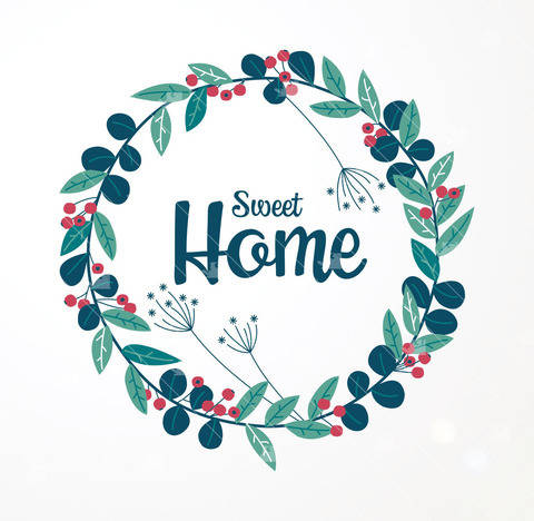 Sweet Home, Cocoon & Cosy - Cutting file at Makerist