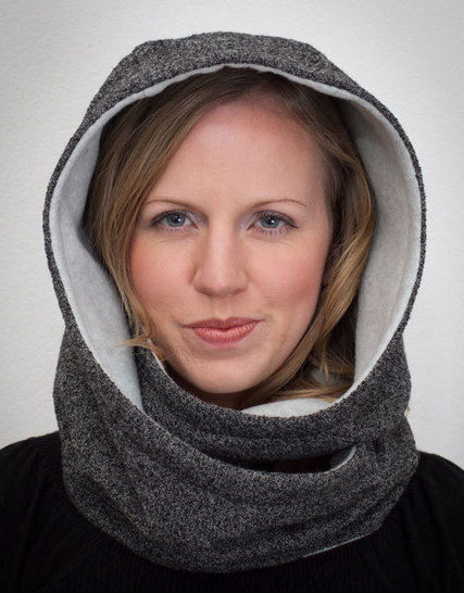 Hooded Infinity Scarf at Makerist - Image 1
