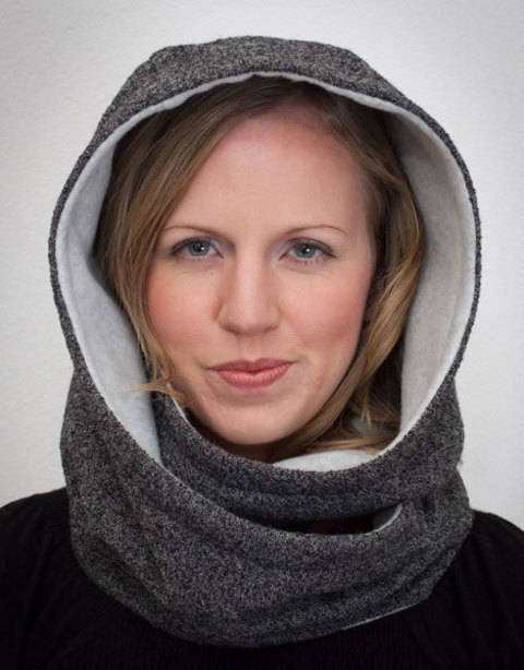 Hooded Infinity Scarf at Makerist