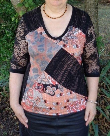 T-shirt Isabella taille 44 à 50 chez Makerist - Image 1