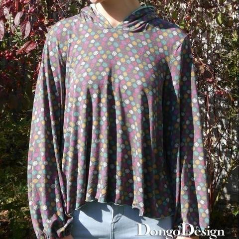 PDF pattern E-Book Jerseyshirt Melanie with instructions  at Makerist