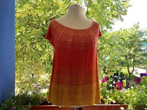 Shirt Sunshine Knitting Pattern