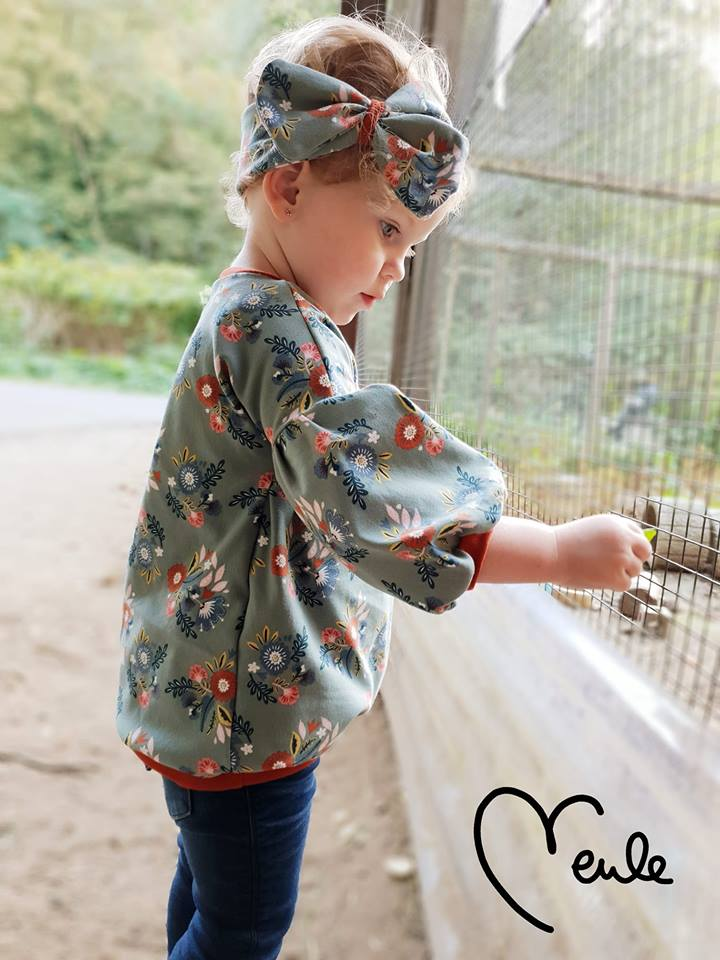 Shirt/Kleid Oolea Nähanleitung und ScHnittmuster