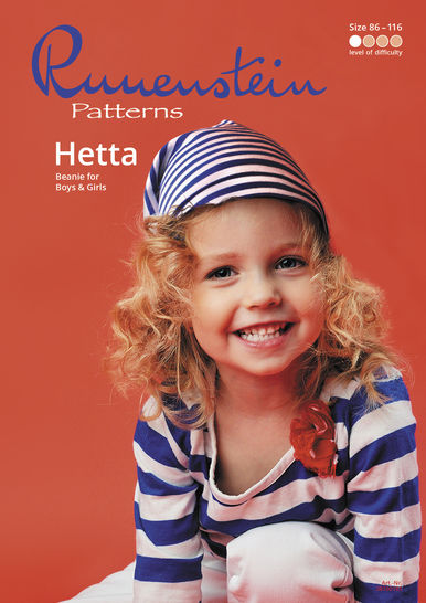 Girls Beanie Hetta 86-116 Pattern & Instruction at Makerist - Image 1