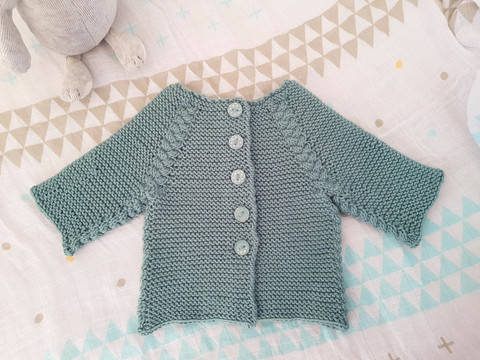 Seppi Cardigan at Makerist