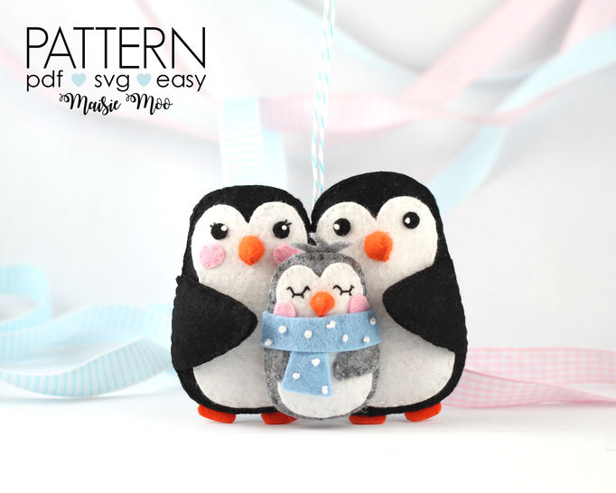 Babys First Christmas Ornament Pattern | New Baby at Makerist - Image 1