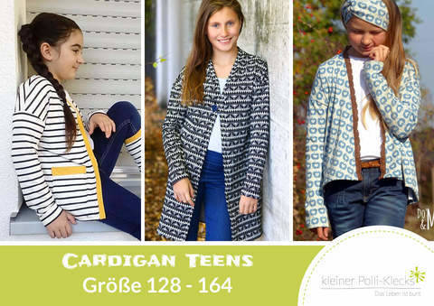 eBook • Cardigan Teens • Gr. 128 - 164 bei Makerist