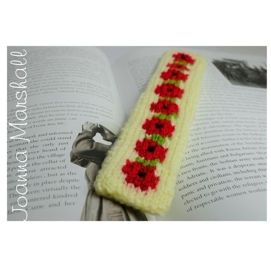 Red Poppy Bookmark at Makerist - Image 1