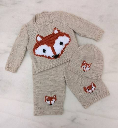 Fox Baby Outfit at Makerist