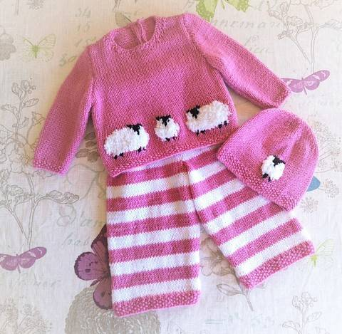 Sheep Baby Outfit
