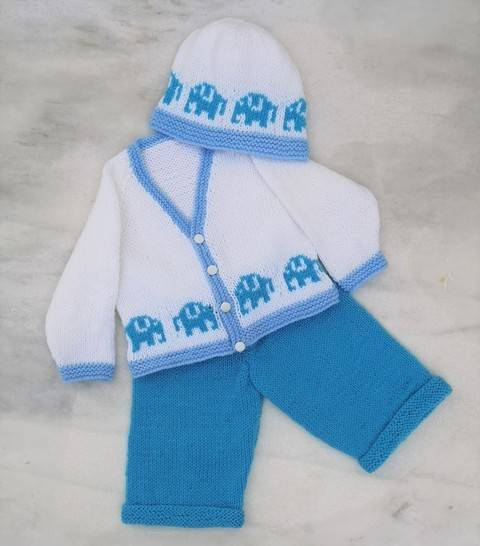 Elephant Baby Outfit at Makerist