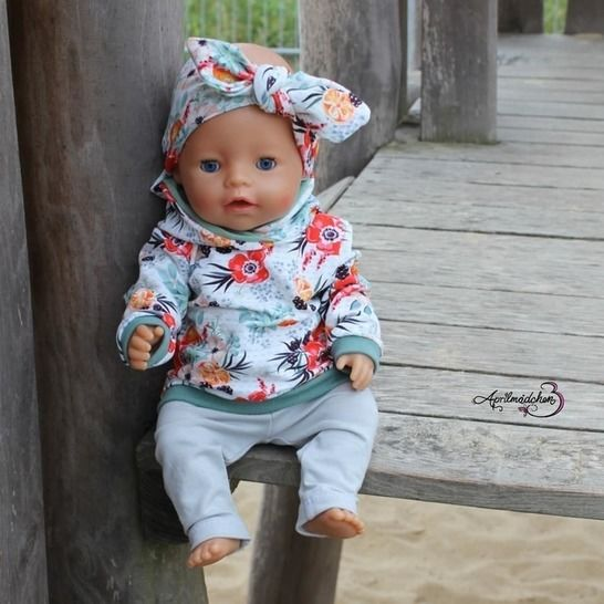 Puppenbasicschnitte *Dress up your Baby Doll* bei Makerist - Bild 1