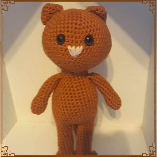 Petit Chat-tutoriel crochet chez Makerist - Image 1