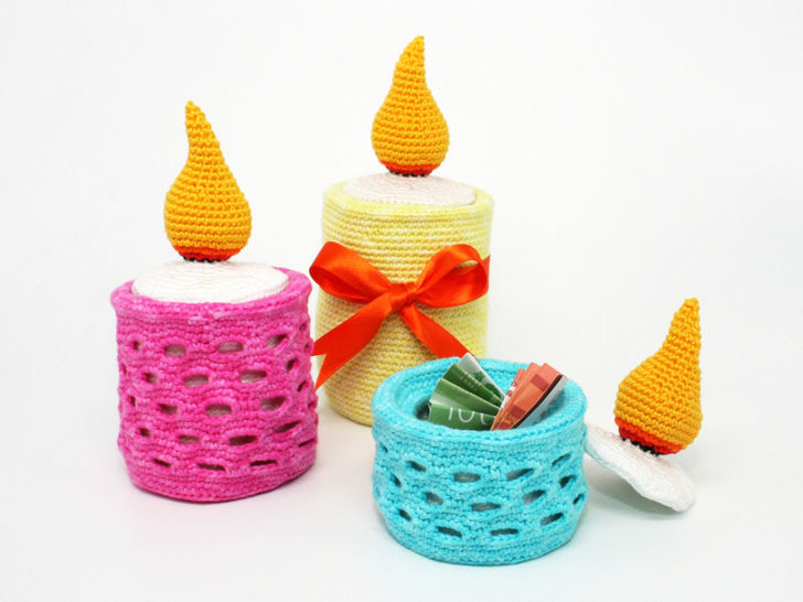 Fill-Up Candle - Crochet Pattern at Makerist - Image 1