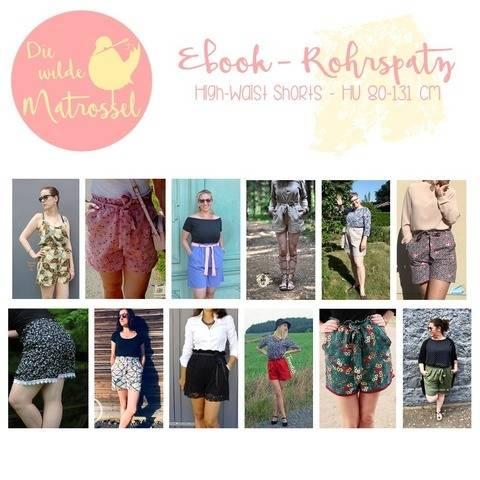 Ebook Rohrspatz High Waist Shorts HU 80-131 cm