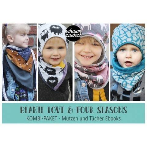 EBOOK - KOMBI * FOUR SEASONS * BEANIE LOVE * bei Makerist
