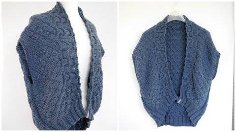 Strickanleitung - Strickjacke - Cardigan DIAMOND - No.207 bei Makerist