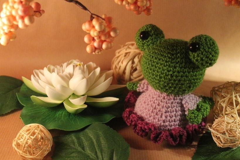"Häkelanleitung ""Froschfee Quaklina"" bei Makerist - Bild 1"
