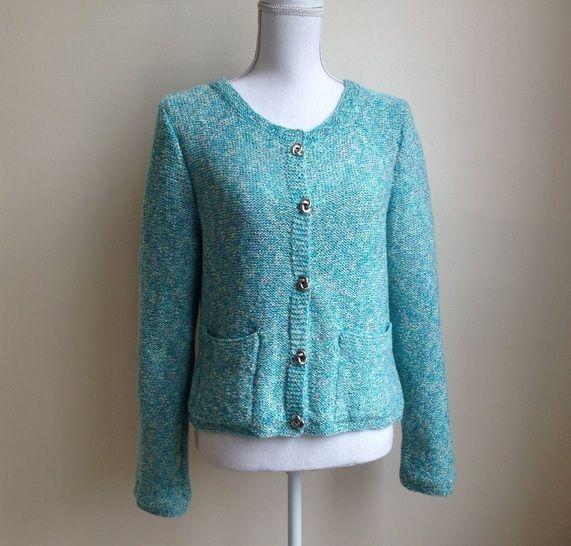 Gilet Fiene 38/40  - tutoriel tricot femme en PDF chez Makerist - Image 1