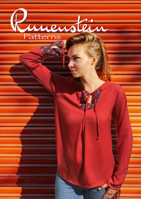 Pjatla Blouse 32-46 Pattern & Instruction