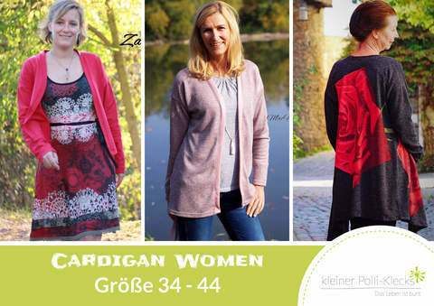 eBook • Cardigan Women • Gr. 34-44 bei Makerist