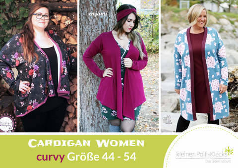 eBook • Cardigan Women • Gr. 44 - 54 bei Makerist