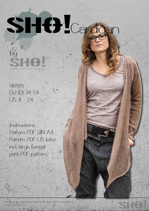 SHO!Cardigan - a must have basic at Makerist
