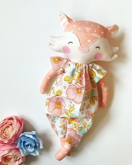 Fox Doll Sewing Pattern at Makerist - Image 1