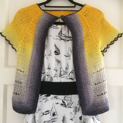 Crochet cardigan pattern - Whirligan  at Makerist