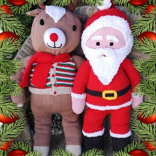 Santa and Rudolph at Makerist - Image 1