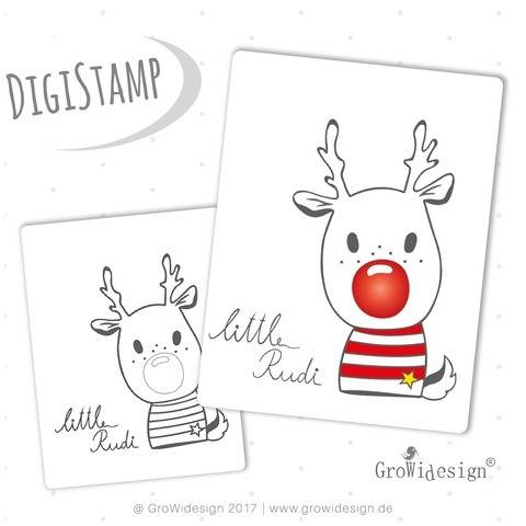 little Rudi DigiStamp