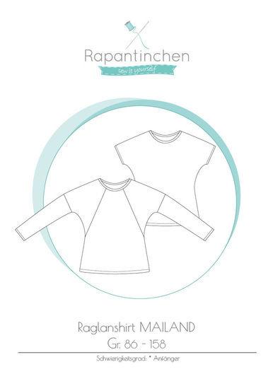 Ebook Raglanshirt MAILAND mit Nähanleitung und Schnitt bei Makerist - Bild 1