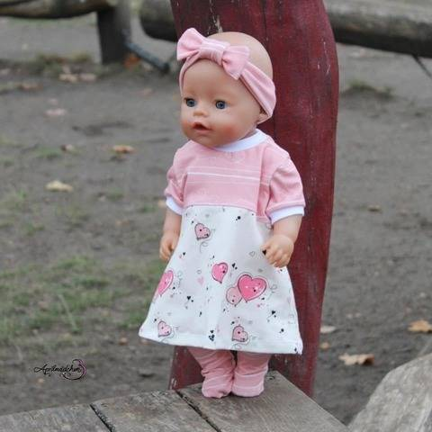 Dress up your Baby Doll Vol.2 Anleitung inkl. Schnittmuster  bei Makerist