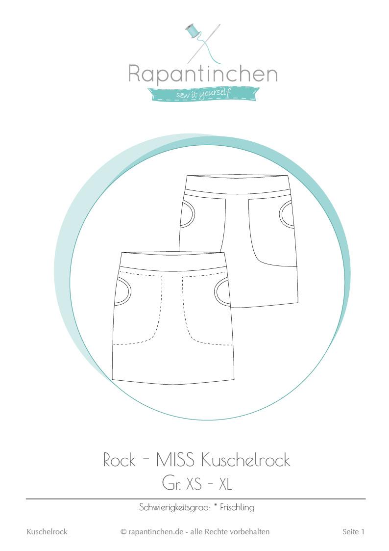 Ebook MISS Kuschelrock mit Nähanleitung und Schnitt