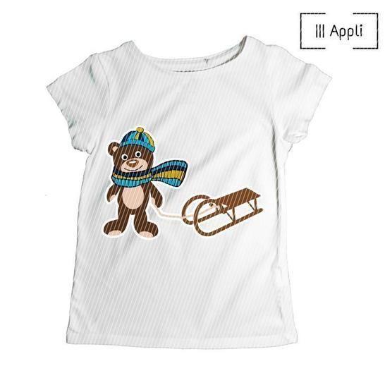 Pumba geht Schlitten fahren | Applikationsanleitung bei Makerist - Bild 1
